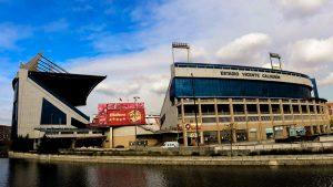 Vicente Calderon stadium of Atletico de Madrid