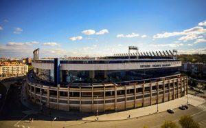 Atletico de Madrid stadium Vicente Calderon