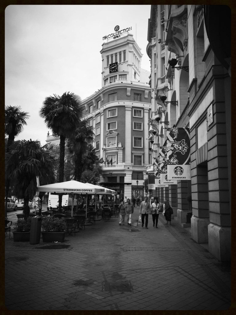 Palace hotel in Madrid