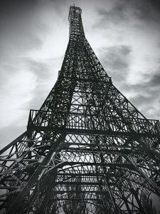Europa Park Madrid Eiffel tower
