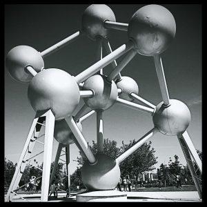 Europa Park Madrid Atomium of Bruxels