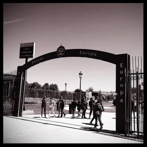 Europa Park Madrid main entrance
