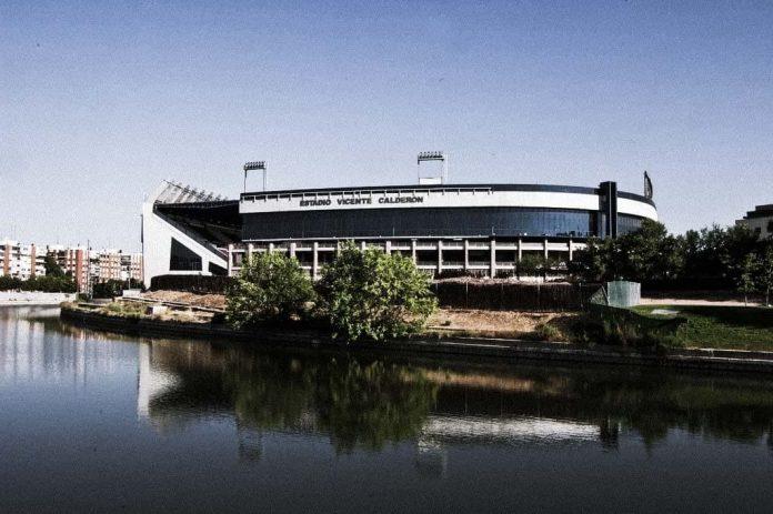 Atletico de Madrid Vicente Calderon Stadium Madrid