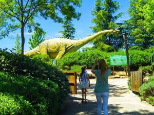 Faunia animal park dinosors