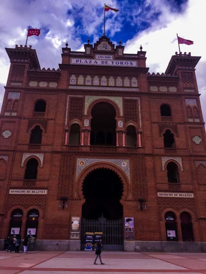 Madrid Las Ventas bullring main entrance