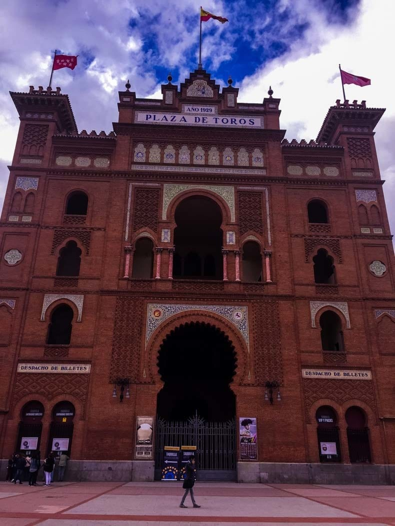 Madrid Las Ventas bullring main entrance
