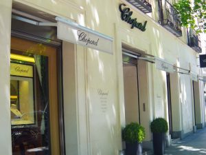 Chopard luxury shopping in Madrid