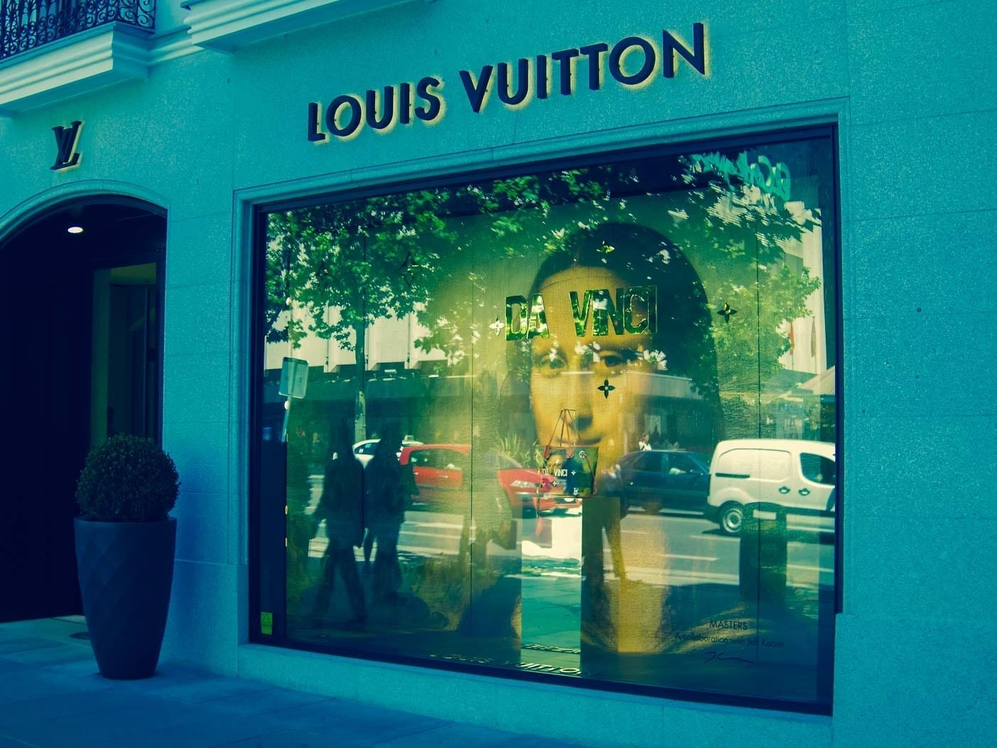 Louis Vuitton luxury shopping in Madrid