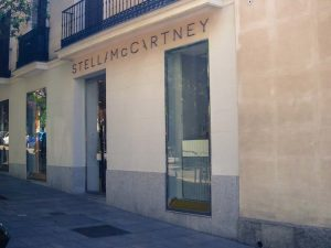 Stella McCartney luxury shopping in Madrid