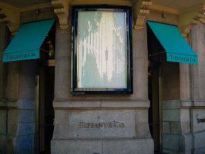 Tiffany & Co. luxury shopping in Madrid