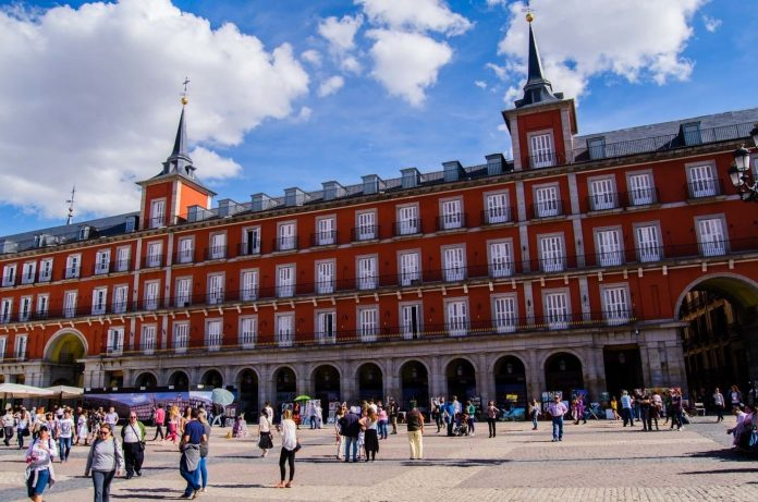 Plaza Mayor of Madrid an historical place