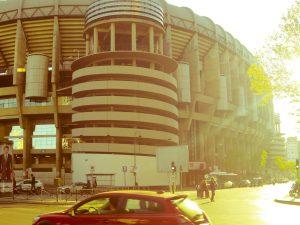 Real Madrid Santiago Bernabeu stadium Concha Espina