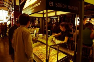 San Miguel market fried fish
