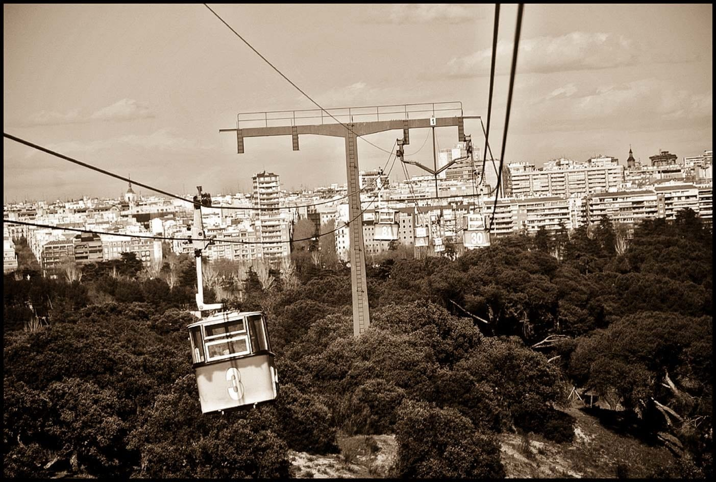 Madrid cable car teleferico
