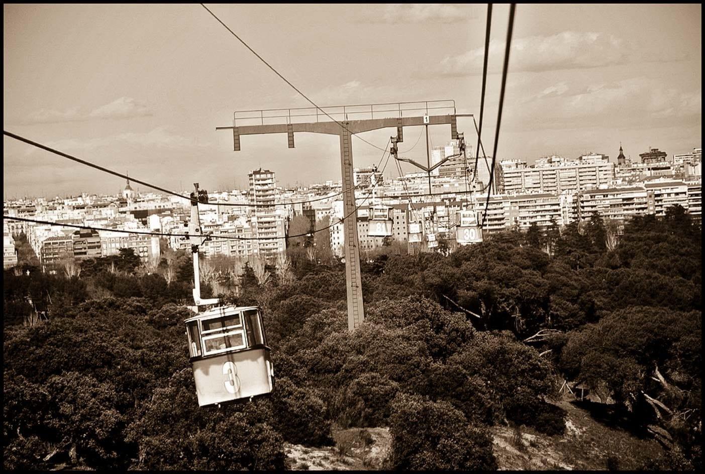 Madrid cable car teleferico