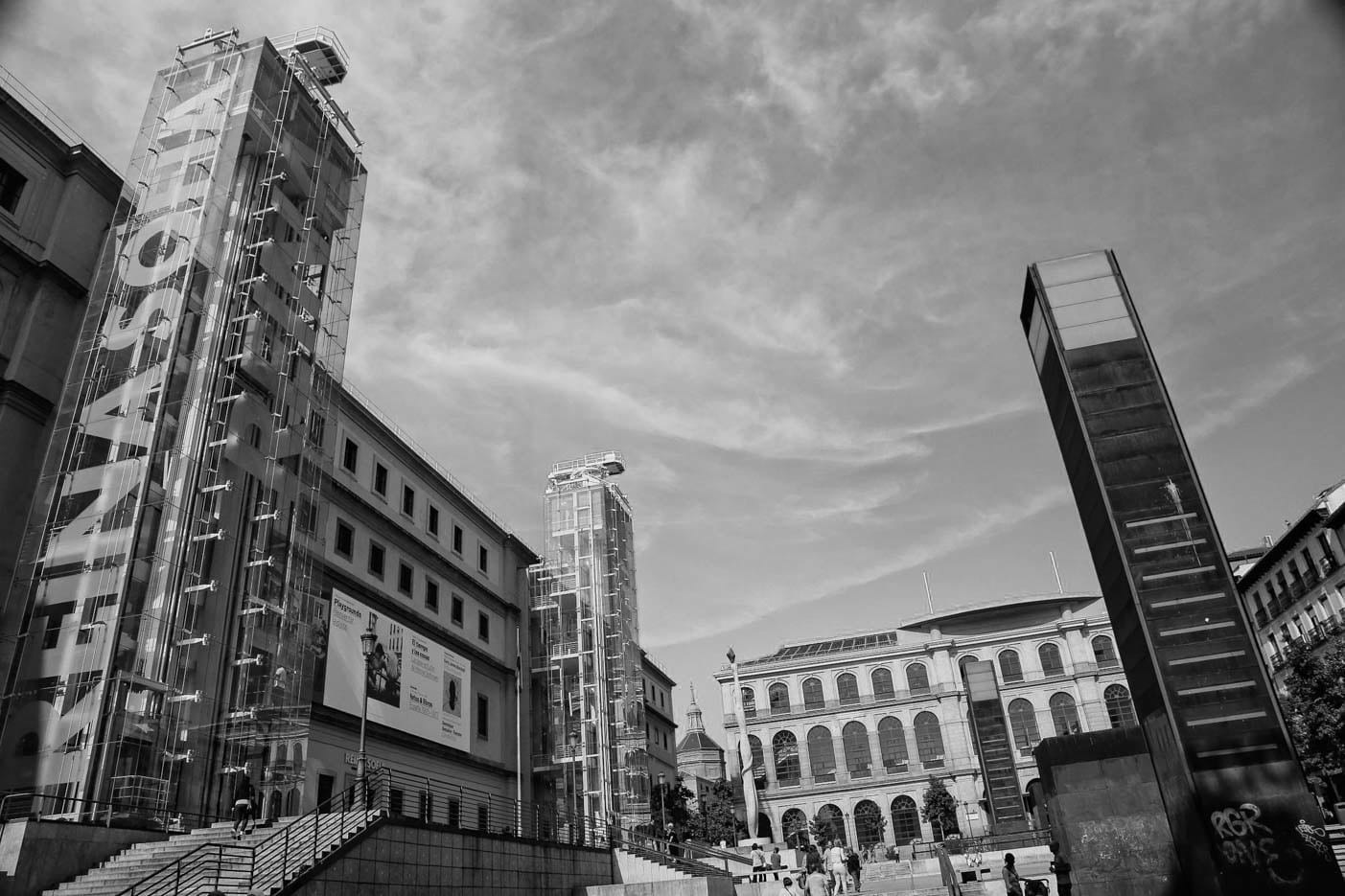 Reina Sofia museum of modern art in Madrid