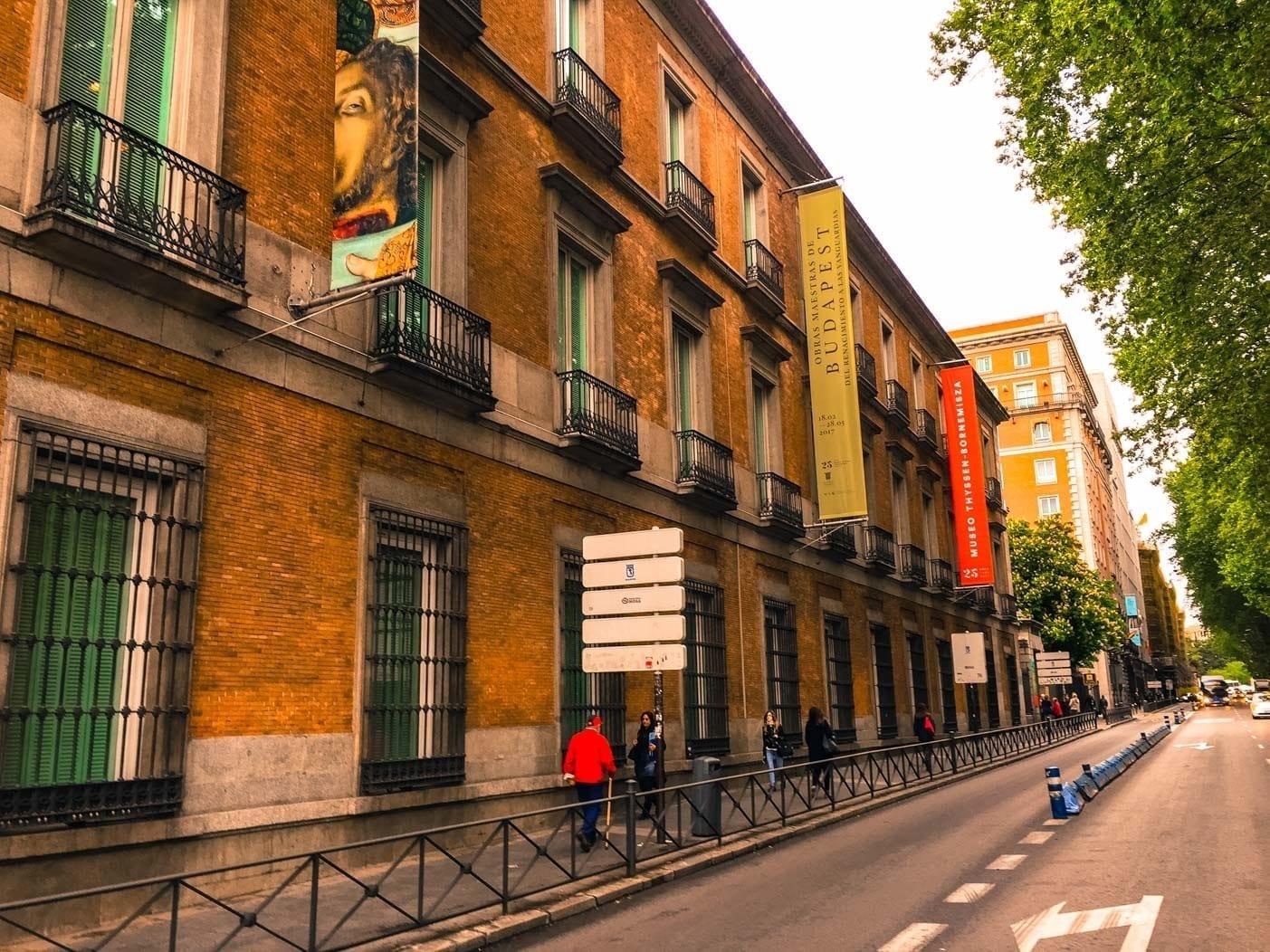 Thyssen-Bornemisza museum of Madrid